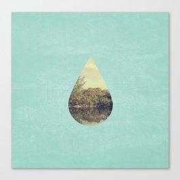 Nature Drop Canvas Print