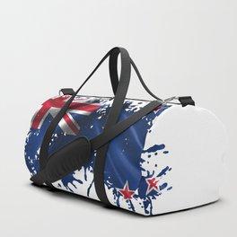 New Zealand Splatter Duffle Bag