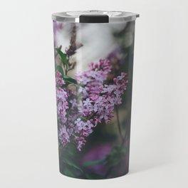 Lilacs Travel Mug