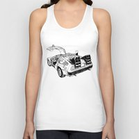 delorean Tank Tops featuring delorean by marzini