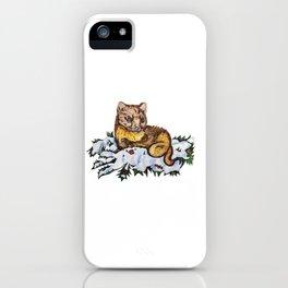 Pine Marten iPhone Case