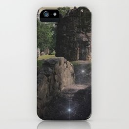 The Stone Tower - Columcile Megalith Park Pennsylvania iPhone Case
