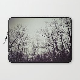 Tree branches in the sky Laptop Sleeve