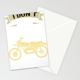 I Dream a Motorcycle Stationery Cards