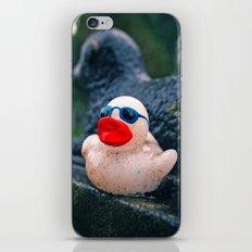 Graveyard duck iPhone & iPod Skin