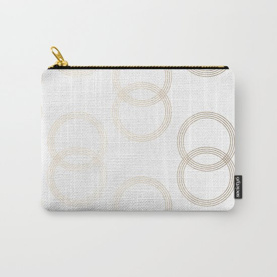 Simply Infinity Link in White Gold Sands on White Carry-All Pouch