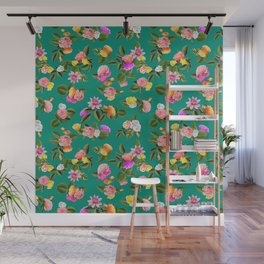 Frida Floral Wall Mural