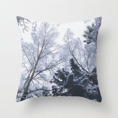 Scared cities Throw Pillow