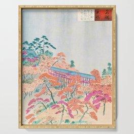 Kobayashi Kiyochika - Sketches of the Famous Sights of Japan - Tsutenkyo - Digital Remastered Edition Serving Tray
