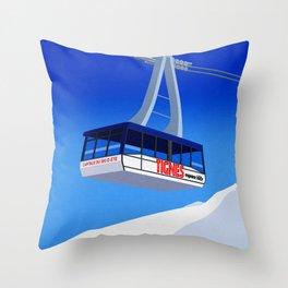 Tignes Throw Pillow