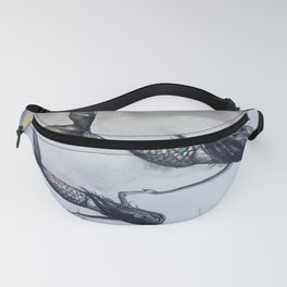 Mermaid Mommy and Daughter Fanny Pack