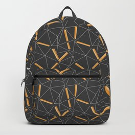 Yellow Prisma Backpack