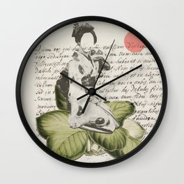 Old Aesthetic Wall Clock