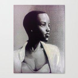 Lupita N. Canvas Print