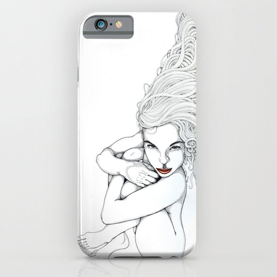 Melancholy pleased iPhone & iPod Case