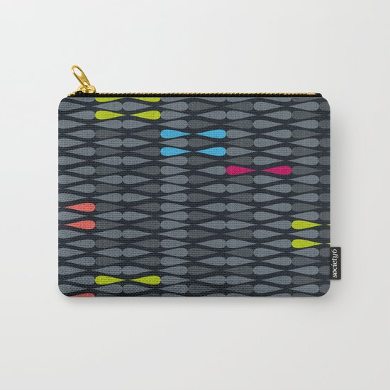 dropsstripes Carry-All Pouch