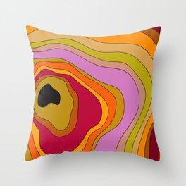 BLOBBI Throw Pillow