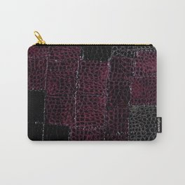 Snake Leather Carry-All Pouch