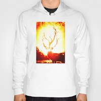 stag Hoodies featuring STAG by Chrisb Marquez