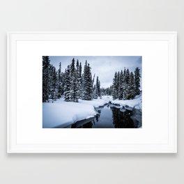 Green River II Framed Art Print