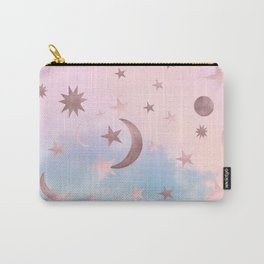 Pastel Starry Sky Moon Dream #2 #decor #art #society6 Carry-All Pouch