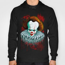The Dancing Clown - Pennywise IT - Vector - Stephen King Character Hoody