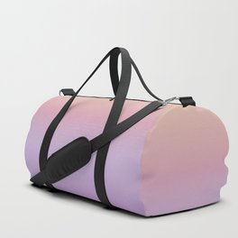 Mindfulness - purple and orange Duffle Bag