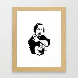 Chopin Fighter Framed Art Print