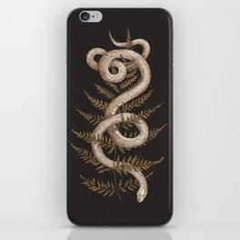 The Snake and Fern iPhone Skin