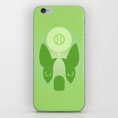 Boston Terrier Thoughts: Ball. iPhone & iPod Skin