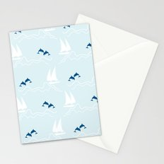 Playful Sea Stationery Cards