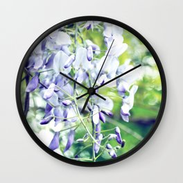 WISTERIA Wall Clock