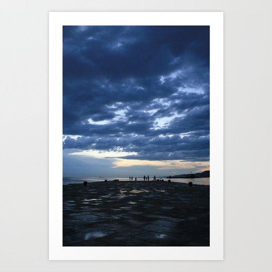 Trieste Italy Art Print