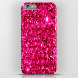 SparklE Hot Pink iPhone Case