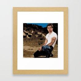 Chris Pine 8 Framed Art Print