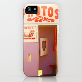 Carnival Photo Booths iPhone Case
