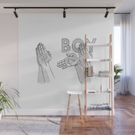 roasted Wall Mural