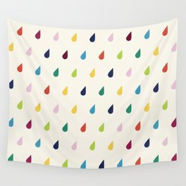 Raindrops Wall Tapestry