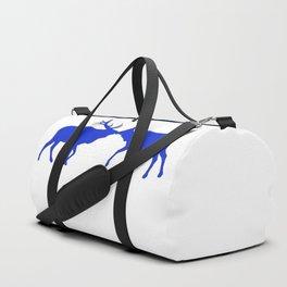 Graphic Kissing Swedish Elk Duffle Bag