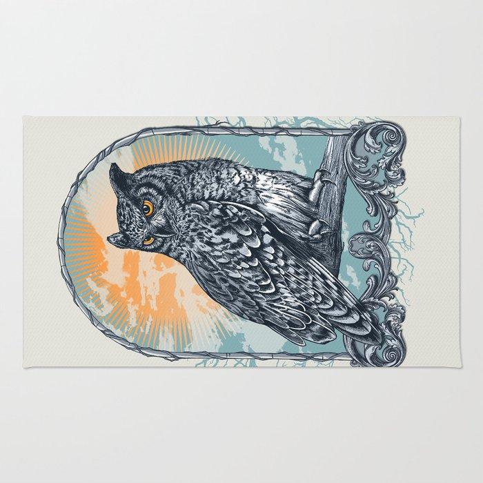 Twilight Owl Rug