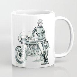 Retro Moto Girls - 750SS Coffee Mug
