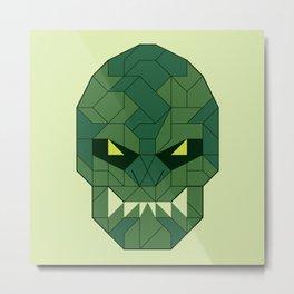 The Lizard Metal Print