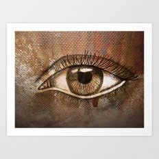 Refracted Canvas Art Print