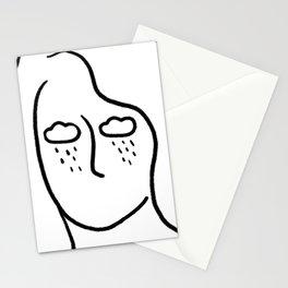 rainy soul Stationery Cards