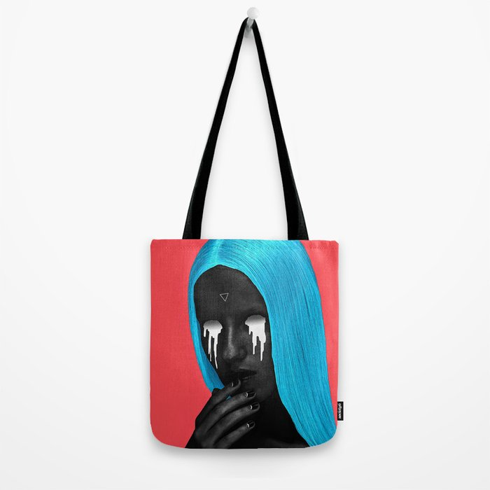 small upside down triangle Tote Bag