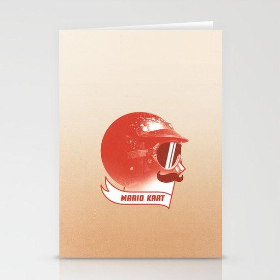 Mario Kart Stationery Cards