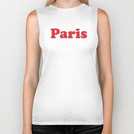 Paris Biker Tank