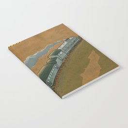 The Transsiberian Railway Travel Poster Notebook