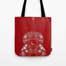 Roja es mi pasion Tote Bag