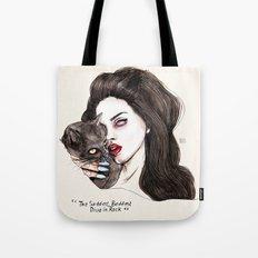 "Lana ""The saddest,baddest diva in Rock"" Tote Bag"
